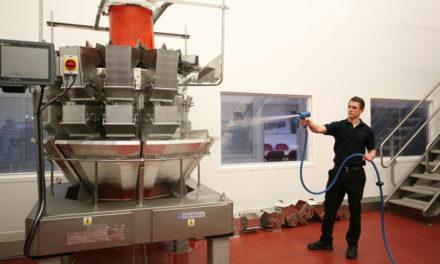 Rozwiązanie problemu wnikania wody przy ważeniu  świeżych imrożonych produktów