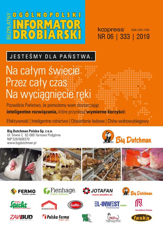 Ogólnopolski Informator Drobiarski - czerwiec