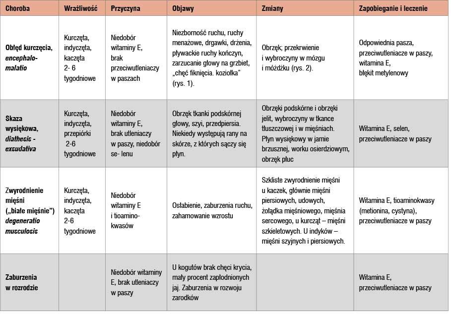 Zawartość witaminy Aikarotenów wpaszach (tysiące j.m. w1 kg paszy)